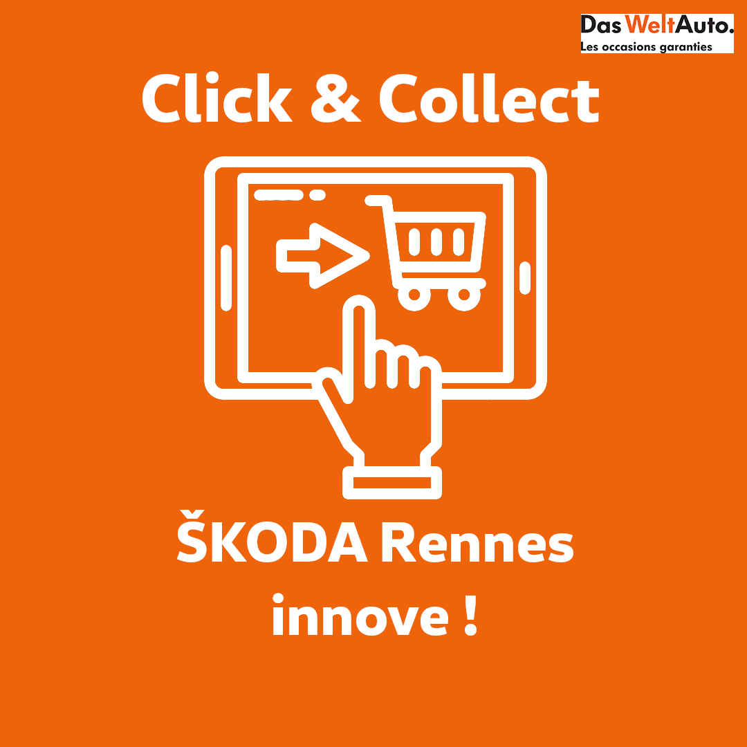 Click and collect ŠKODA Rennes Véhicules d'occasion